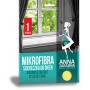 Mikrofibra ściereczka do okien ANNA ZARADNA, 1 szt., Akcesoria do sprzątania, Artykuły higieniczne i dozowniki