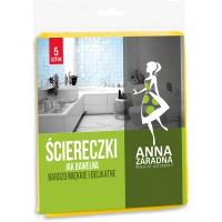 Ściereczki jak bawełna ANNA ZARADNA, 5szt., Akcesoria do sprzątania, Artykuły higieniczne i dozowniki