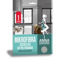 Mikrofibra ściereczka do polerowania ANNA ZARADNA, 1 szt., Akcesoria do sprzątania, Artykuły higieniczne i dozowniki