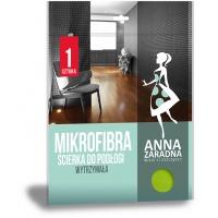 Mikrofibra ściereczka do podłogi ANNA ZARADNA, 1 szt., Akcesoria do sprzątania, Artykuły higieniczne i dozowniki