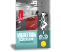Mikrofibra ręcznik kuchenny ANNA ZARADNA, 1 szt., Akcesoria do sprzątania, Artykuły higieniczne i dozowniki