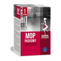 Mop paskowy ANNA ZARADNA, z mikrofibry, 1 szt., Akcesoria do sprzątania, Artykuły higieniczne i dozowniki