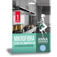 Mikrofibra ANNA ZARADNA, ściereczka uniwersalna, 1 szt., Akcesoria do sprzątania, Artykuły higieniczne i dozowniki