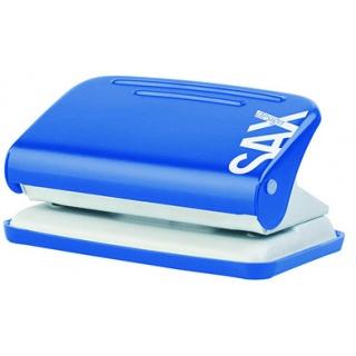 Dziurkacz SAXDesign 218 paperbox, dziurkuje do 12 kartek, niebieski, Dziurkacze, Drobne akcesoria biurowe