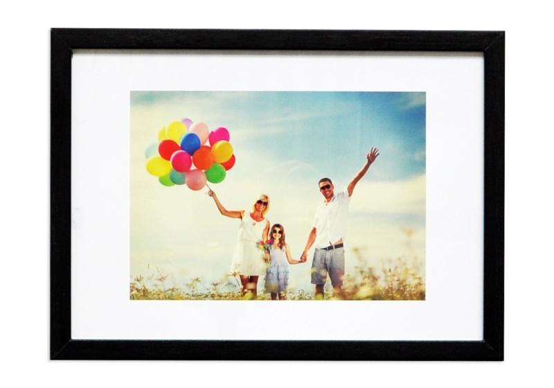 Photo frame, Q-CONNECT, A4, 210x297mm, black