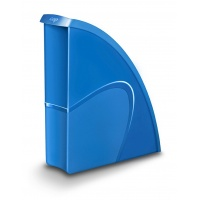 Pojemnik na dokumenty CEPPro Gloss, polistyren, niebieski, Promocje PBS, ~nagrody