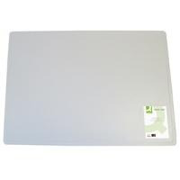 Podkładka na biurko Q-CONNECT, 40x53cm, transparentna, Podkładki na biurko, Wyposażenie biura
