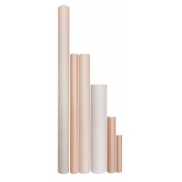 Cardboard tube, OFFICE PRODUCTS; diameter 52mm, length 350mm, for A4, A3, B4 formats;