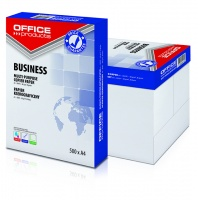 Papier kserograficzny OFFICE PRODUCTS, Business, A4, klasa B+, 161CIE, 500ark., Papier do kopiarek, Papier i etykiety
