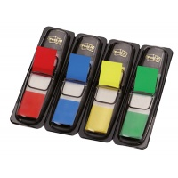 Zakładki indeksujące POST-IT® (683-4), PP, 12x43mm, 4x35 kart., mix kolorów, Promocje PBS, ~nagrody