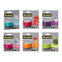 Taśma kolorowa SCOTCH® EXPRESSIONS mix kolorów, Promocje PBS, ~nagrody