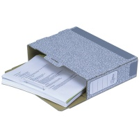 klips do spinania dokumentów 85 mm, biały, op. 100szt., Listwy spinające i samoprzylepne, Archiwizacja dokumentów