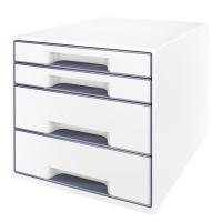 Pojemnik z szufladami Leitz WOW, Pojemniki na katalogi, Archiwizacja dokumentów