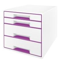Pojemnik z szufladami Leitz WOW, Pojemniki na katalogi, Wyposażenie biura