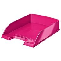 Półka na dokumenty Leitz Plus WOW, różowy, Szufladki na biurko, Archiwizacja dokumentów