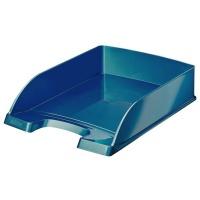 Półka na dokumenty Leitz Plus WOW, niebieski, Szufladki na biurko, Archiwizacja dokumentów