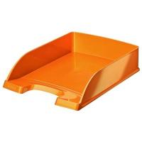 Półka na dokumenty Leitz Plus WOW, pomarańczowy, Szufladki na biurko, Archiwizacja dokumentów