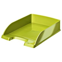 Półka na dokumenty Leitz Plus WOW, zielony, Szufladki na biurko, Archiwizacja dokumentów