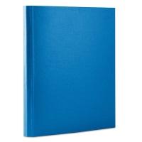 Teczka z rzepem OFFICE PRODUCTS, PP, A4/4cm, 3-skrz., niebieska, Teczki przestrzenne, Archiwizacja dokumentów