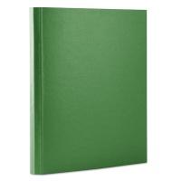 Teczka z rzepem OFFICE PRODUCTS, PP, A4/4cm, 3-skrz., zielona, Teczki przestrzenne, Archiwizacja dokumentów
