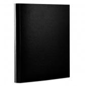 Teczka z rzepem OFFICE PRODUCTS, PP, A4/4cm, 3-skrz., czarna, Teczki przestrzenne, Archiwizacja dokumentów