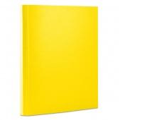 Teczka z rzepem OFFICE PRODUCTS, PP, A4/4cm, 3-skrz., żółta, Teczki przestrzenne, Archiwizacja dokumentów