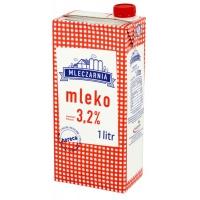 Mleko UHT MLECZARNIA 3,2%, 1 l, Mleka i śmietanki, Artykuły spożywcze