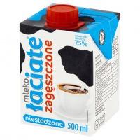 Mleko UHT ŁACIATE, zagęszczone, niesłodzone 0,5 l, Mleka i śmietanki, Artykuły spożywcze