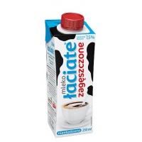 Mleko UHT ŁACIATE, zagęszczone, niesłodzone, 0,25 l, Mleka i śmietanki, Artykuły spożywcze