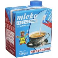Mleko GOSTYŃ, zagęszczone, niesłodzone, 0,5 l, Mleka i śmietanki, Artykuły spożywcze