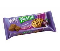 Ciastka Pieguski MILKA, 135 g, czekoladowe z rodzynkami, Ciastka, Artykuły spożywcze