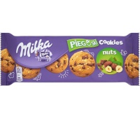 Ciastka Pieguski MILKA, 135 g, czekoladowe z orzechami, Ciastka, Artykuły spożywcze