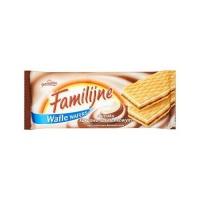 Wafle Familijne JUTRZENKA, 180 g, śmietankowo-kakaowe, Wafle, Artykuły spożywcze