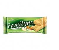 Wafle Familijne JUTRZENKA, 180 g, orzechowe, Wafle, Artykuły spożywcze