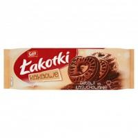 Ciastka Łakotki SAN, 168 g, kakaowe, Ciastka, Artykuły spożywcze