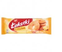 Ciastka Łakotki SAN, 168 g maślane, Ciastka, Artykuły spożywcze