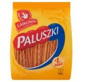 Paluszki LAJKONIK, 200 g, solone, Paluszki, Artykuły spożywcze