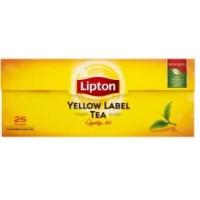 Herbata LIPTON Yellow Label, 25 torebek, Herbaty, Artykuły spożywcze