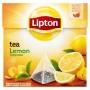 Herbata LIPTON, piramidki, 20 torebek, cytrynowa