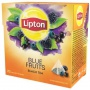 Herbata LIPTON, piramidki, 20 torebek, owoce jagodowe