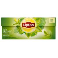 Herbata LIPTON Green Tea, 25 torebek, zielona, klasyczna, Herbaty, Artykuły spożywcze