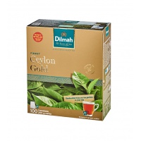 Herbata DILMAH Ceylon Gold, 100 torebek, Herbaty, Artykuły spożywcze