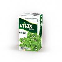 Herbata VITAX, melisa, 20 torebek, Herbaty, Artykuły spożywcze