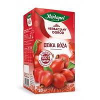 Herbata HERBAPOL Herbaciany Ogród, 20 torebek, dzika róża, Herbaty, Artykuły spożywcze
