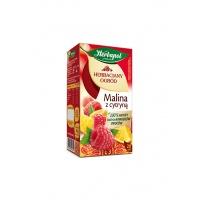 Herbata HERBAPOL Herbaciany Ogród, 20 torebek, malina z cytryną, Herbaty, Artykuły spożywcze