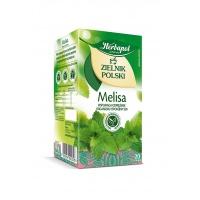 Herbata HERBAPOL Zielnik Polski, 20 torebek, melisa, Herbaty, Artykuły spożywcze