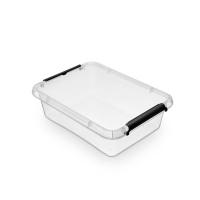 Pojemnik do przechowywania ORPLAST Simple box, 8,5l, transparentny, Pudła, Wyposażenie biura
