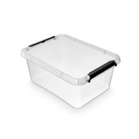 Pojemnik do przechowywania ORPLAST Simple box, 12,5l, transparentny, Pudła, Wyposażenie biura