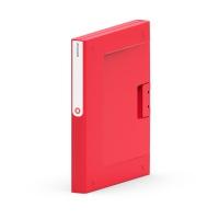 Segregator NEW BINDER, plastikowy, A4/35 mm, czerwony, Segregatory ringowe, Archiwizacja dokumentów
