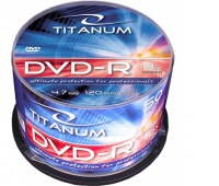 DVD-R TITANUM 4,7GB X8 SZPINDEL 50SZT., Podkategoria, Kategoria
